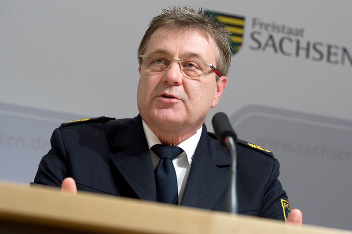 """""""Wir bleiben dran!"""", verspricht Polizeipräsident Bernd Merbitz."""