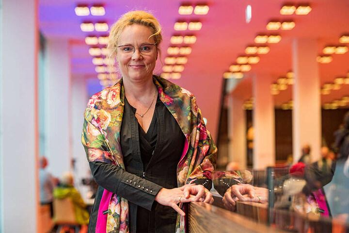 Will den Kulti mit Musik füllen und zu einem offenen Haus machen: Frauke Roth (52), seit 2015 Intendantin der Dresdner Philharmonie.