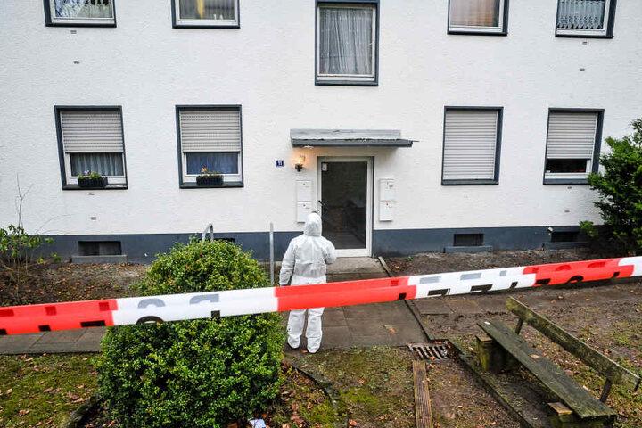 In diesem Haus wurde die Ermordete gefunden.