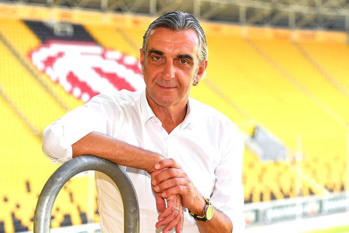 Sportgeschäftsführer Ralf Minge begrüßt die Bedingungen in der Türkei.