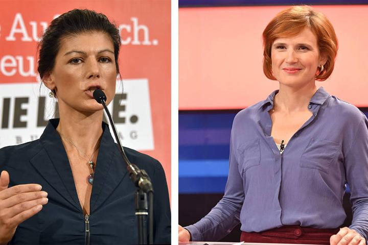 Spitzenkandidatin der Linke Sahra Wagenknecht und Parteichefin Katja Kipping sehen die geringe Erhöhung kritisch.