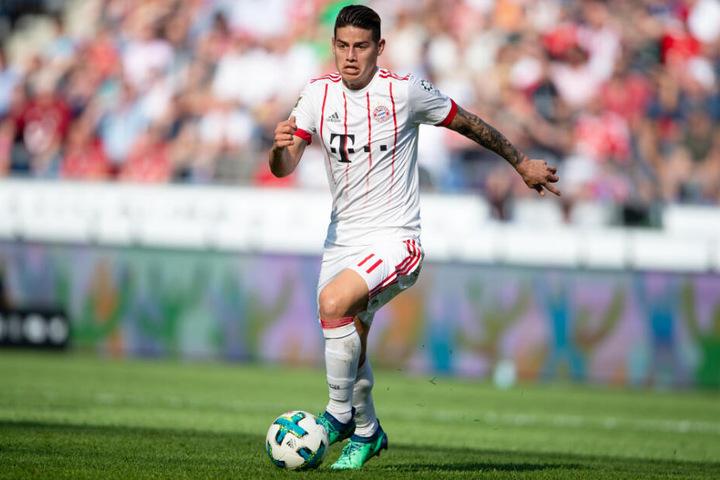 James Rodríguez konnte mit dem FC Bayern München gleich mehrere Titel feiern.