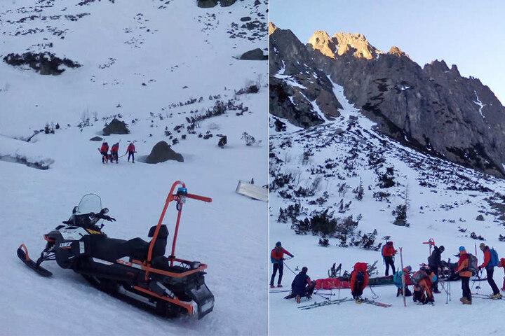 Die Bergretter wurden innerhalb weniger Stunden zu vier Notfällen gerufen.