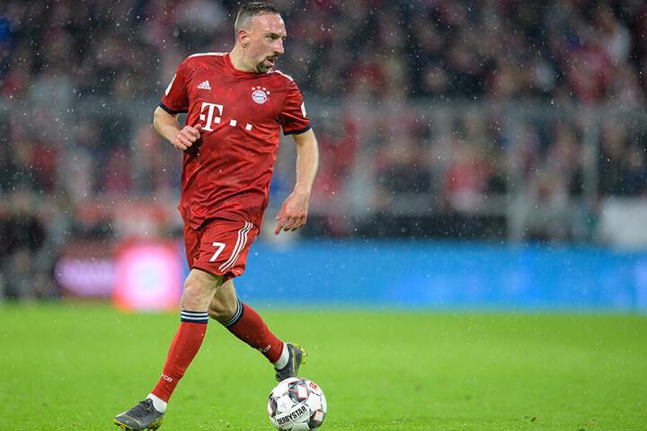 Insegesamt neun deutsche Meisterschaften und sechs DFB-Pokalsiege holte Ribery mit dem FC Bayern.