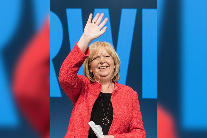 Hannelore Kraft rechnet sich mit der SPD Chancen auf die Macht in NRW aus.