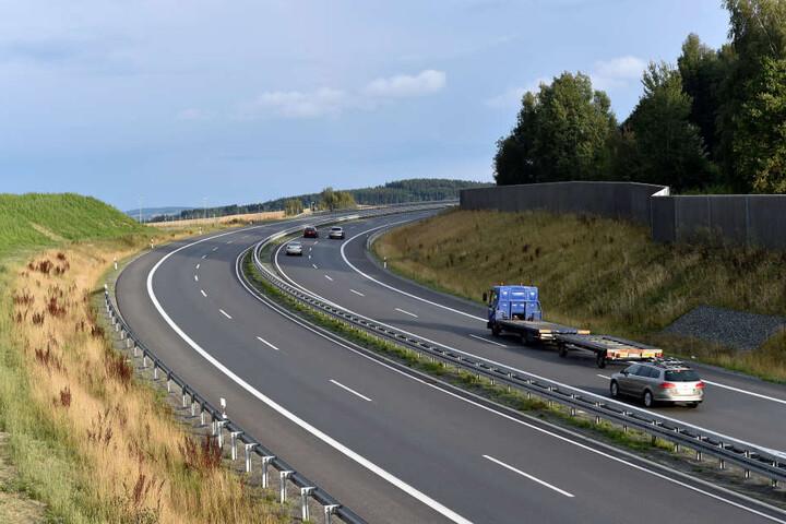 35 Millionen Euro teuer war der vierspurige Neubau der B174 zwischen Chemnitz  und Gornau. Doch beim Lärmschutz wurde gepfuscht.