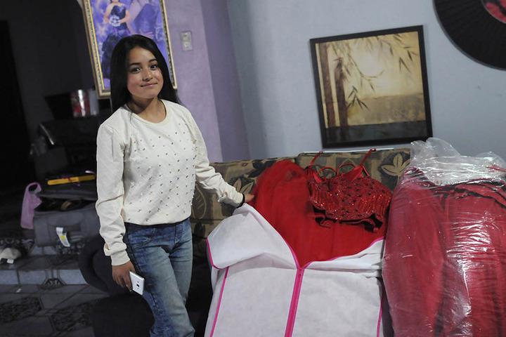 Rubí war durch ein Einladungsvideo ihres Vaters überall bekannt geworden.