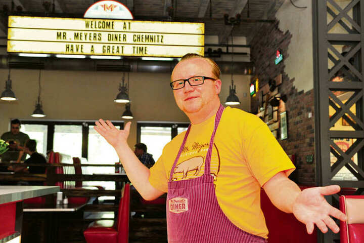 Restaurantchef Daniel Meyer (39) freut sich auf die Dreharbeiten.