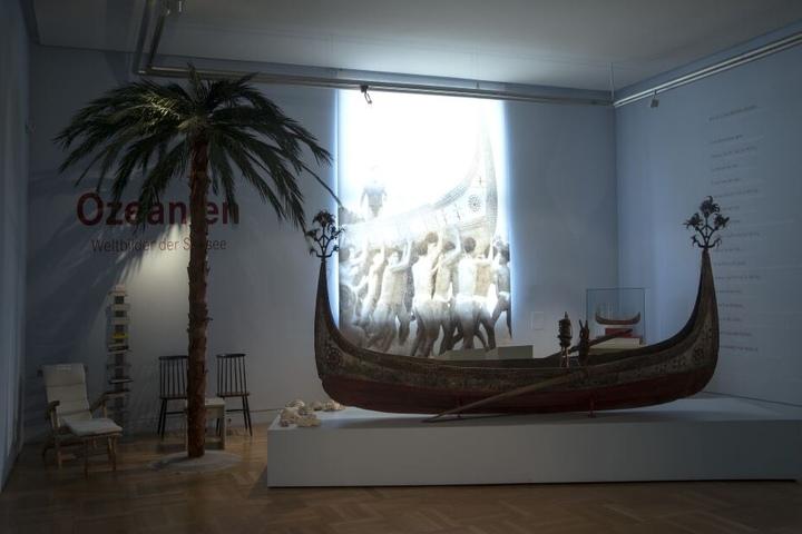 Im Museum Fünf Kontinente werden viele ethnologische Stücke aus der ganzen Welt gezeigt.