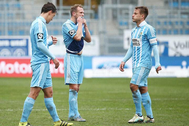 Auch Fabian Stenzel (rechts) verlässt den CFC.