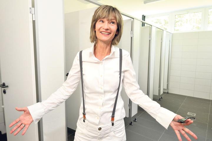 OB Barbara Ludwig (55. SPD) machte sich für die 600.000-Euro-Investition am  Stausee Rabenstein stark.