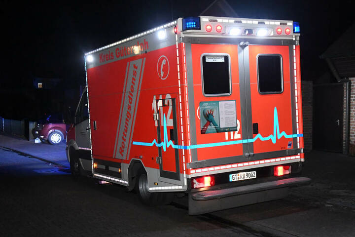 Ein Rettungswagen war vor Ort.