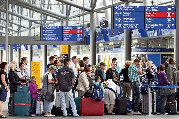 Pünktlich zum Start der Sommerferien beginnt die Reisezeit. Die Chemnitzer fliegen am liebsten von den Flughäfen Leipzig-Halle und Dresden.