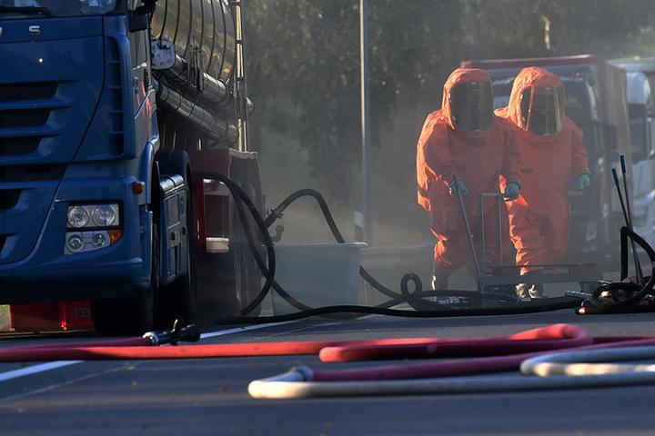 Ein normaler Arbeitstag war es für die Spezialisten der Feuerwehr nicht. Für viele endete er im Krankenhaus.