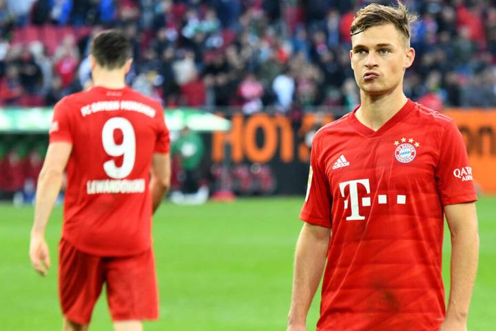 Wird Joshua Kimmich (r.) beim FC Bayern eine Ära prägen oder zieht es ihn ins Ausland?