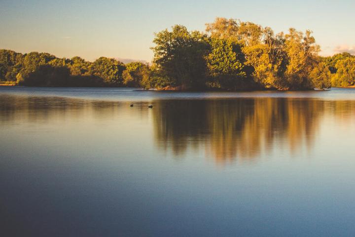 In dem See wurden Kolibakterien nachgewiesen. (Symbolbild)