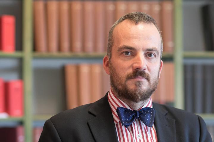 Der Dresdner Rechtsanwalt und Arbeitsrechts-Experte Gerhard Rahn (44).