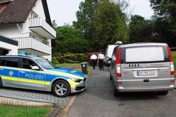 Die Polizei fand am Donnerstagvormittag die Frau tot in ihrer Wohnung.