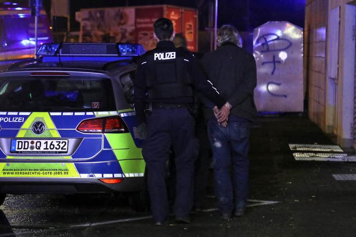 Die Polizei nahm den Mieter zwischenzeitlich in Gewahrsam.