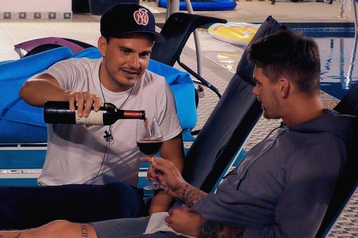 Für die Männer gab's dann aber doch ein Weinchen.
