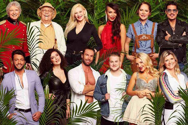 Das sind die zwölf Dschungelcamp-Kandidaten 2019.