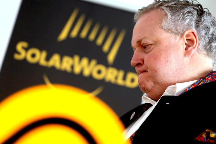 Frank Asbeck, Vorstandsvorsitzender bei Solarworld.