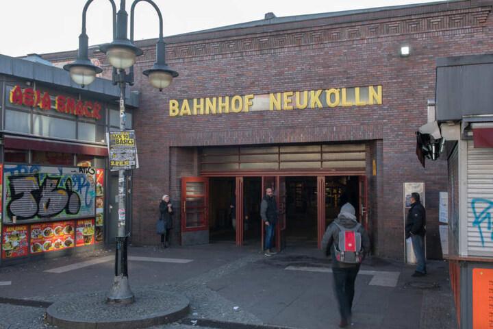 Am S-Bahnhof Neukölln kommt es immer wieder zu brutalen Übergriffen.