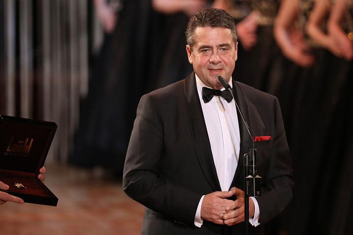 Bundesaußenminister Sigmar Gabriel (58) erhält den St. Georgs Orden.