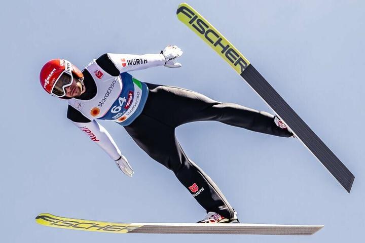 Markus Eisenbichler sicherte sich die Goldmedaille bei der WM in Innsbruck.