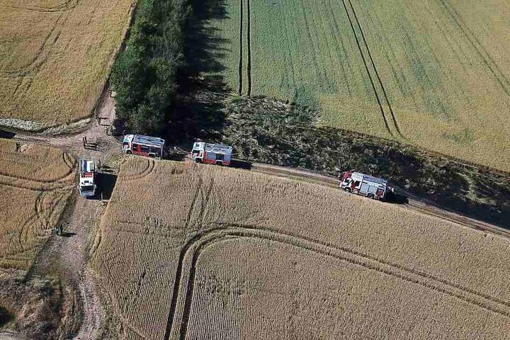 Mehrere Feuerwehren waren zum Einsatz gekommen.