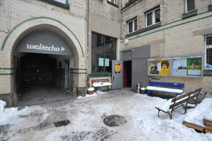 Unbekannte brachen in das Chemnitzer Kulturzentrum Weltecho ein.