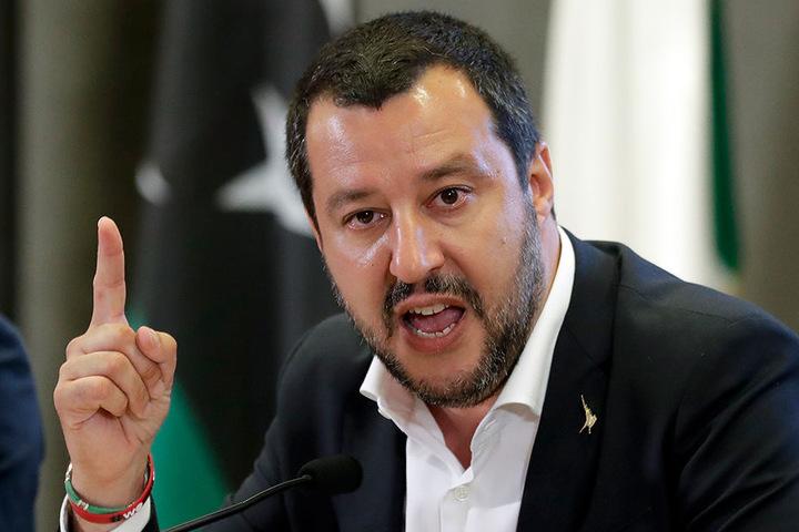 """Italiens Innenminister Salvini wurde im Juli von Mallorca zur """"Persona non grata"""" erklärt."""