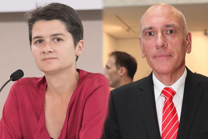 Daniela Kolbe (38) und Thomas Jurk (56).