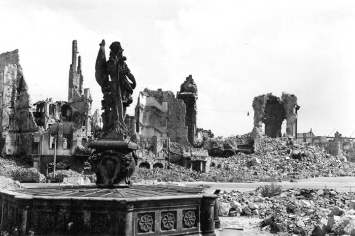 Die Bombardierung Dresdens hat sich für immer in das Gedächtnis des Schauspielers eingebrannt.