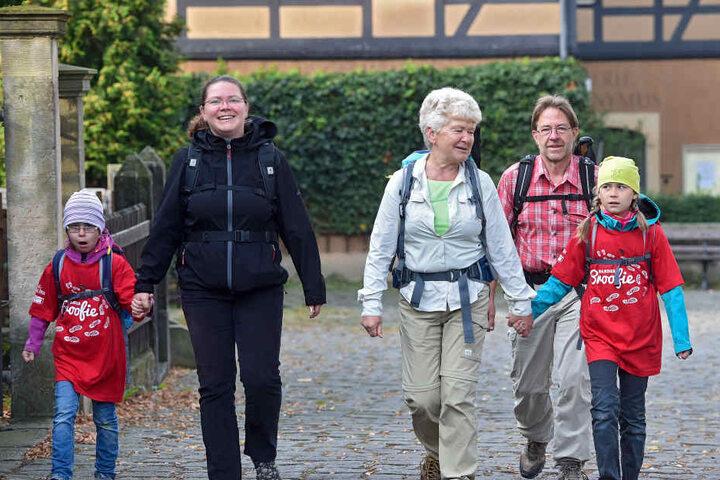 Im Teilnehmerfeld waren alle Altersklassen vertreten.