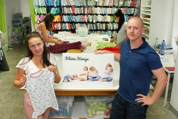 """Inhaber des erfolgreichen Kindermode-Labels """"Kleine Könige"""": Nicole und Andreas Radtke."""