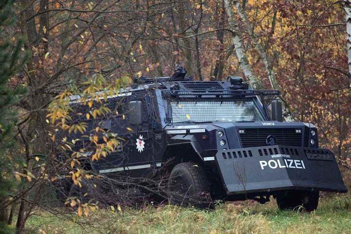 Das Fahrzeug soll vor allem bei Terrorlagen eingesetzt werden.