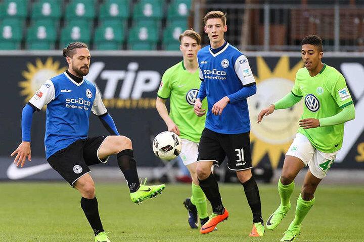 Henri Weigelt steigt zur kommenden Saison in den Kader der Bielefeld-Profis auf.