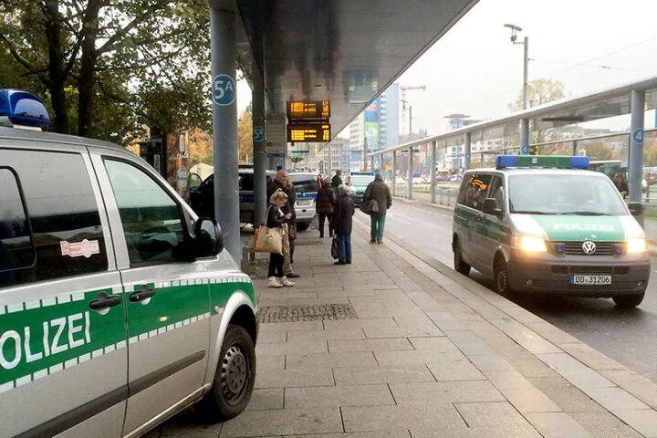 Donnerstagabend machte die Polizei wieder eine Dauerkontrolle in der Innenstadt.