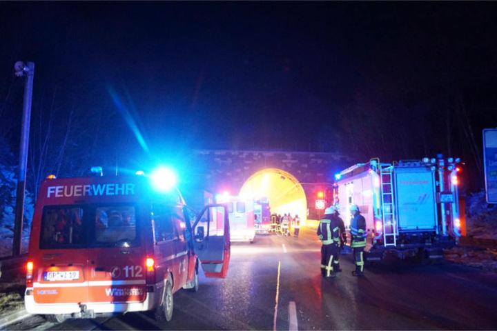 Die Feuerwehr war mit 120 Mann vor Ort im Einsatz.