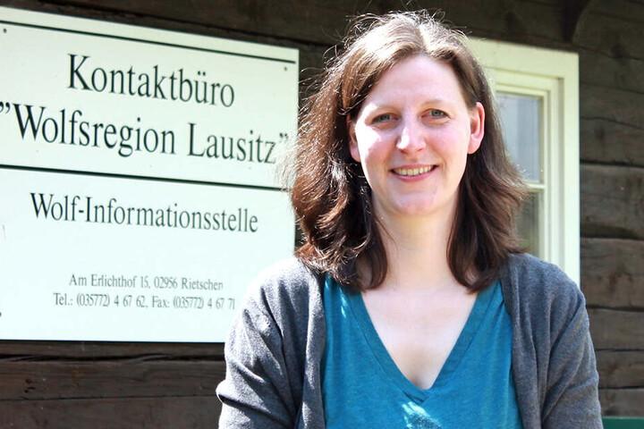 Expertin Vanessa Ludwig (36) von der Fachstelle Wolf.