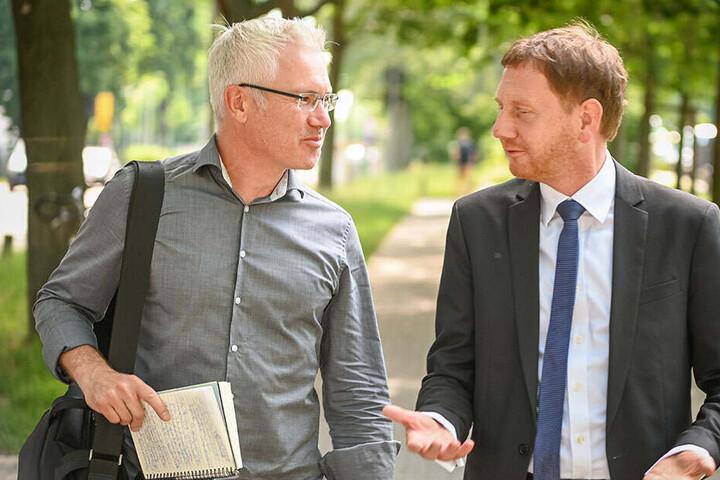 TAG24-Reporter Torsten Hilscher (51) begleitete den MP einen ganzen Tag lang.