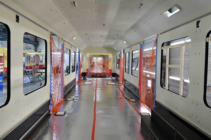 Ab 2021 sollen die neuen Bahnen in Berlin fahren.