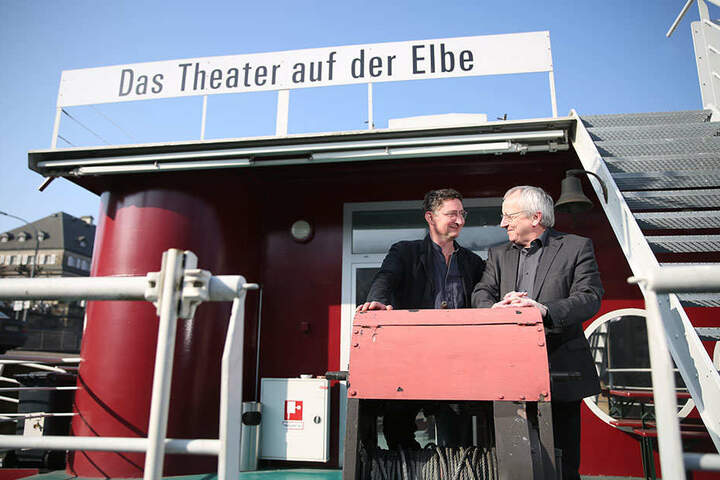 Holger Böhme (l.) mit seinem Vorgänger Detlef Rothe.