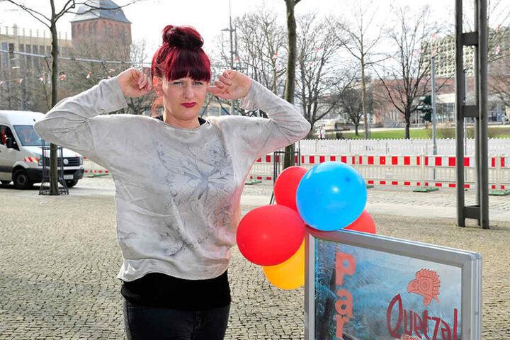 Kerstin Der (45) von der Schokoladenbar befürchtet im Sommer massive Umsatzeinbußen.