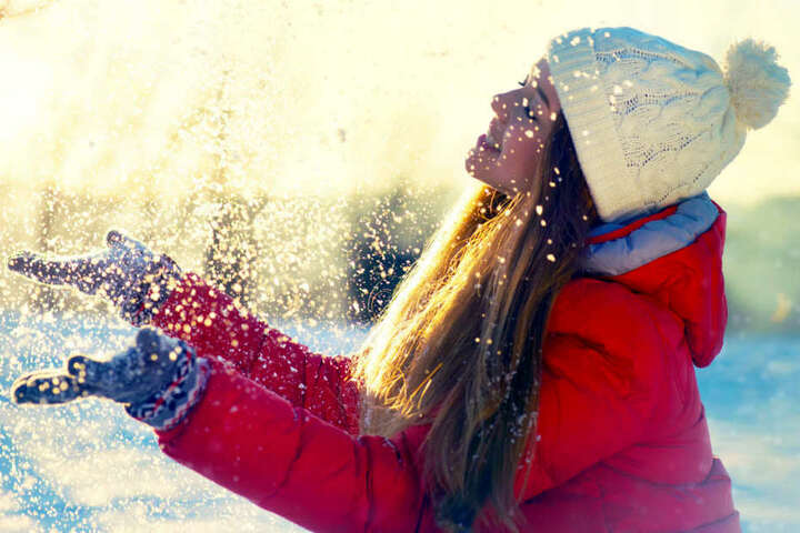 Trotz Kälte dürfen wir uns am Sonntag auf ein wenig Sonne freuen.