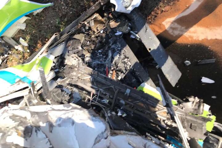 Auch der Busfahrer wurde bei dem Unfall verletzt.