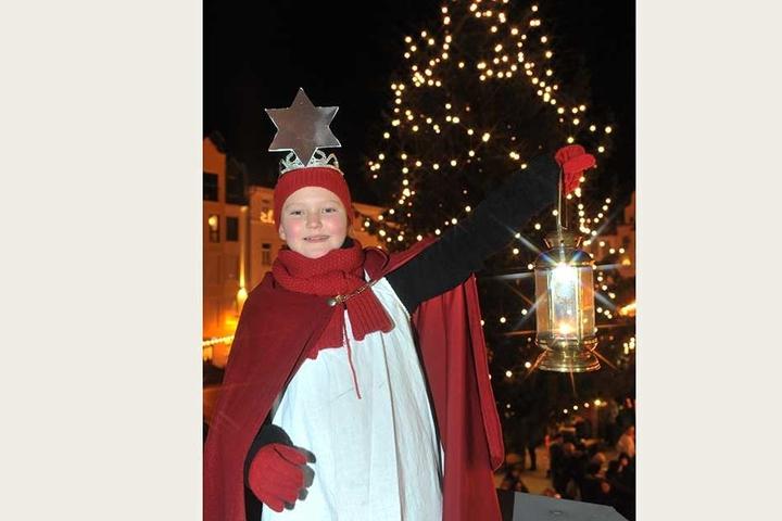 """Alles beginnt mit dem """"Licht'l-Umzug"""" am 27. November. Damit wird der Plauener Weihnachtsmarkt offiziell eröffnet."""