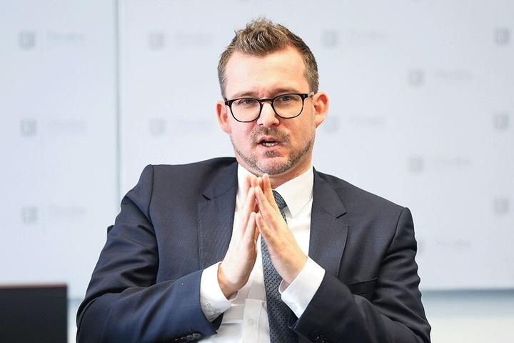 Baubürgermeister Raoul Schmidt-Lamontain (42, Grüne) sorgt bei der FDP für Ärger.