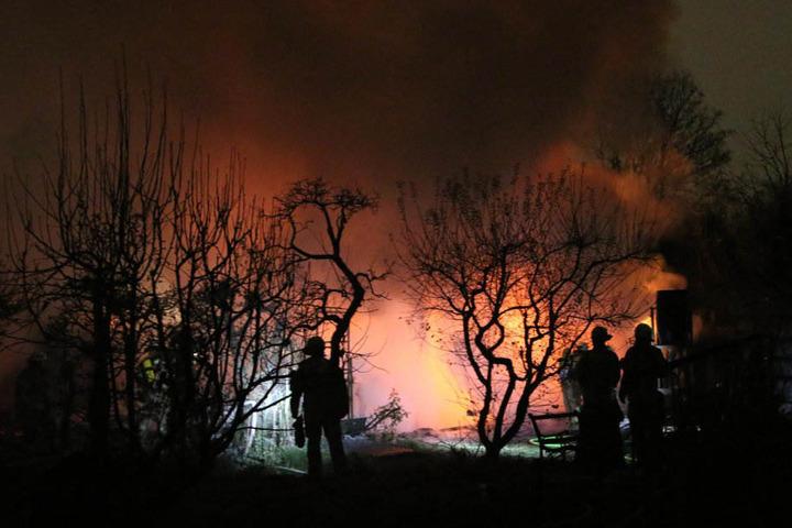 Verletzt wurde bei dem Brand niemand.